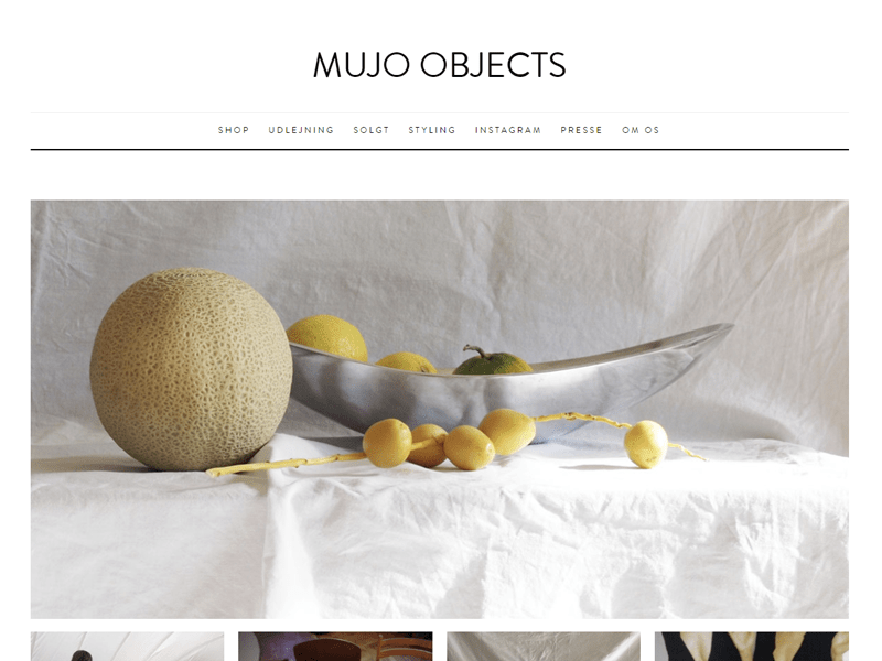 Mujo Objects