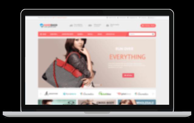 Webshop responsive